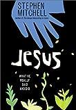 Jesus, Stephen Mitchell, 0064490092