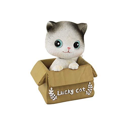 Eastalent Bobbleheads Bobble Head Cats car Dashboard Decors Dashboard Doll Nodding cat (Cat 2)