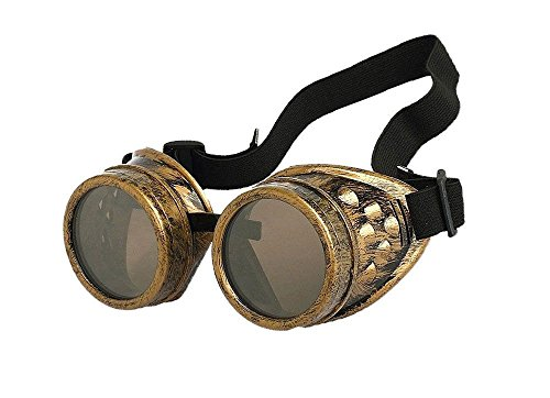 Living New Retro Steampunk Goggles Welding Punk Glasses Cosplay - Goggles New