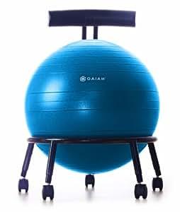 Gaiam Custom Fit Adjustable Balance Ball Chair