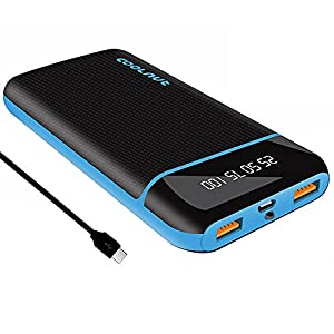 Coolnut 20000 mAh QC (Quick Charge 3.0) Fast Charging Power Bank with 18W for iPhone, Samsung, One Plus and all…