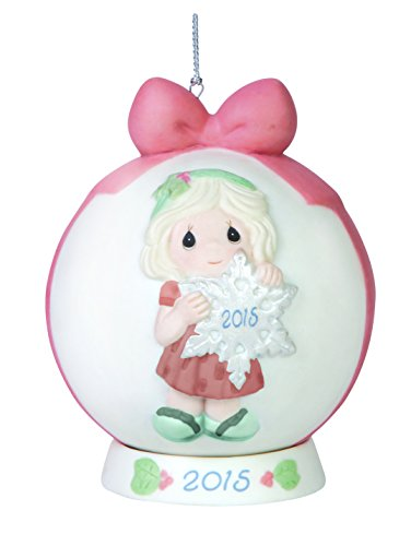 Precious Moments You Make The Season One of a Kind Dated Ball Ornament with Base - Dated Ball Ornament