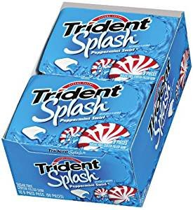 (Trident Splash Peppermint Swirl Chewing Gum 30-9)