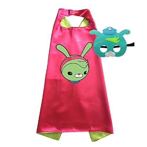 Octonauts Cape and Mask Costumes Kids Birthday