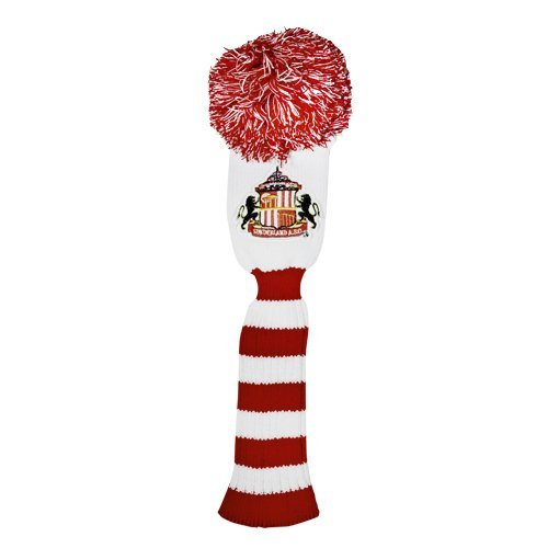Sunderland AFC Official Product Golf POMPOM FAIRWAY Headcover Embroidery New by Sunderland A.F.C. by Sunderland A.F.C.