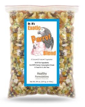 Dr. Harvey's Exotic Blend Natural Food for Parrots, 25-Pound Bag by Dr. Harvey's