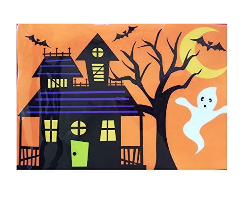 Celebrate the season Halloween Vinyl Placemat Set of