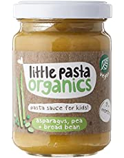 Little Pasta Organics Organic Asparagus, Pea & Broad Bean Pasta Sauce, 130g