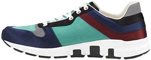 Gucci Men's Multicolor Satin Lace-up Trainer Sneaker, 9.5 US (Gucci/UK 9) 336613