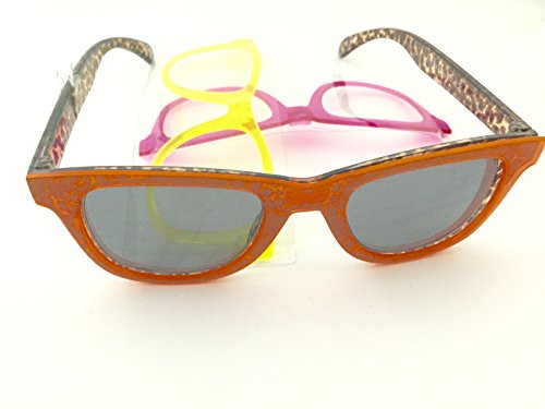 Foster Grant Surge Snap 22 Frm Sunglasses With Interchangeable Fronts [100% Uva - Sunglasses Surge
