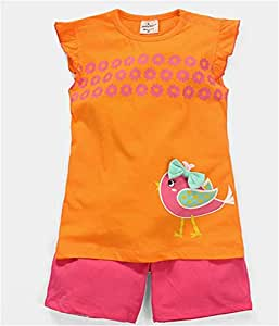 Multi Color Two Pieces Wear For Girls
