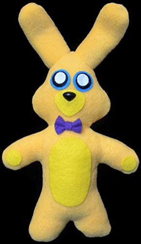 Fnaf Spring Bonnie (Handmade Plush) Five Night's at Freddy's Inspired 13 inches