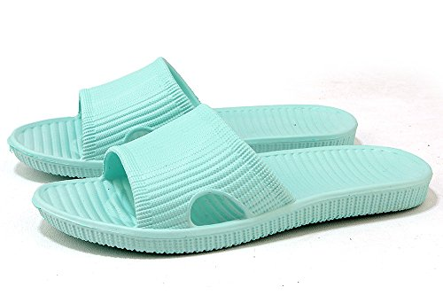 Open Women's Dry Shoes AOUPOU Green Toe Quick Bath Indoor Beach Pool On Slippers Slip qYZ4q