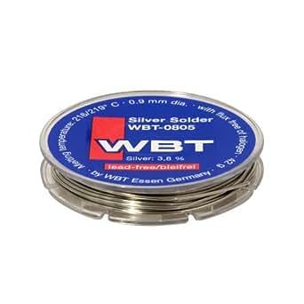 WBT wbt-0805Plata sin plomo soldadura 0.9mm OD 42g Retail carrete