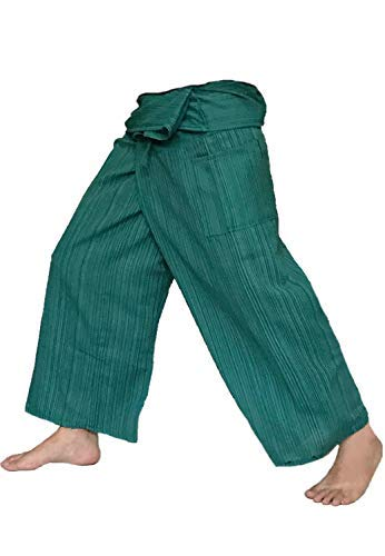 Love Quality Thai Fisherman Pants Men Yoga Martial Arts Free Size