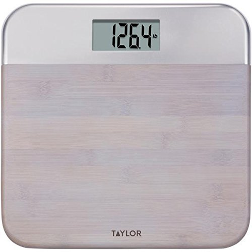 Taylor Precision Products 86634242NB Bamboo Digital Scale, 5