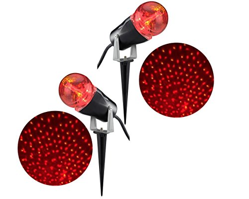 Light Show Projection Star Spinner RRY (Pack of 2)