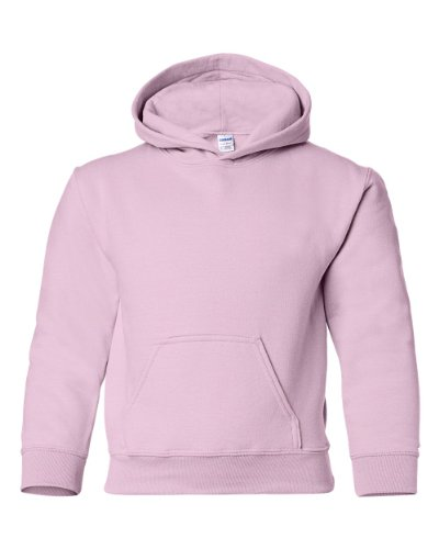 Gildan Heavy Blend Hooded Sweatshirt (G185B) Light Pink, ()