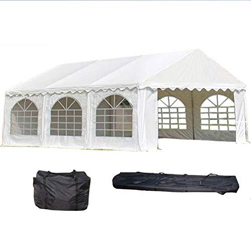 DELTA Canopies 20'x16' PVC Party Tent - Heavy Duty Wedding Canopy Gazebo Carport - with Storage Bags - By