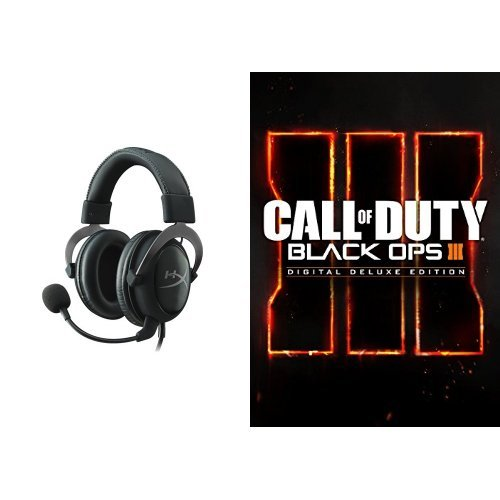 Call of Duty: Black Ops III - Digital Deluxe Edition - PC [Download Code] and Headset Bundle