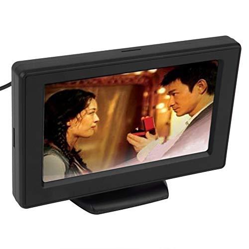 Cam/éra de recul 4.3 TFT LCD Moniteurs de Voiture pour cam/éra de recul GPS GPS Accessoires de Conduite de v/éhicule