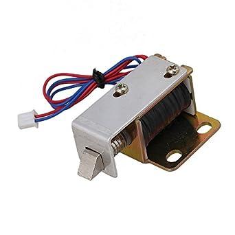 cnbtr DC 12 V TFS-A12 tipo de marco abierto solenoide eléctrico cerradura de la