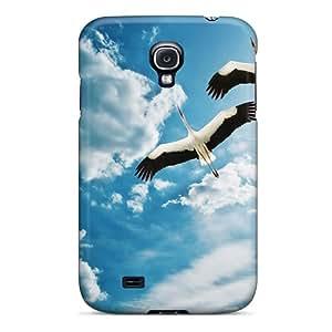 [SKChvjr2828FMDPt] - New Cranes Birds Protective Galaxy S4 Classic Hardshell Case