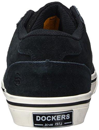 200100 Zapatillas para Gerli Schwarz by 42wa801 Dockers 100 Hombre Negro twq1OBn