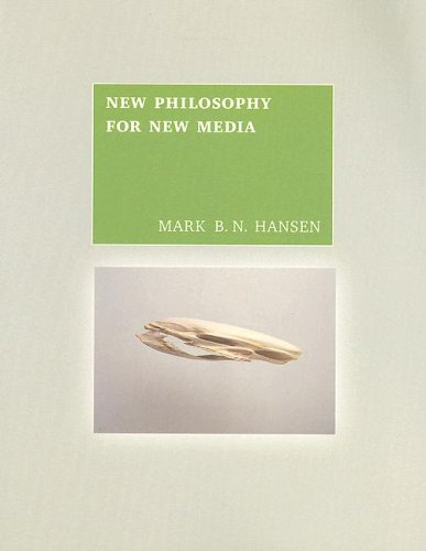 New Philosophy For New Media (MIT Press)