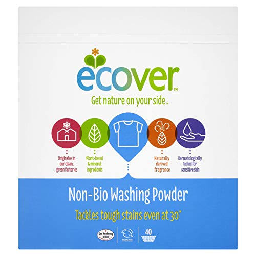 Ecover Concentrated Non Bio Washing Powder 3 Kg