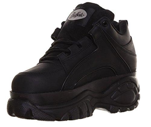 14 Black Womens Shoes 1339 Buffalo Leather awEPxqXP