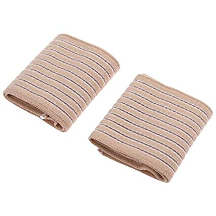 5fc5aa95ae1 Petsdelite® 2Pcs Gym Sports Nylon Wrist Support Wrap Bandage Weight  Lifting Wristbands Recovery Wristband For