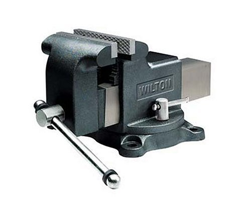 Wilton Model WS8 Jaw Width 8-Inch Throat Depth 4-Inch Shop Vise by Wilton
