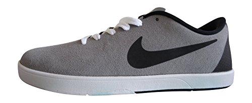 Nike Takedo SB, Zapatillas de Skateboarding para Hombre Gris / Negro / Blanco (Cool Grey/Black-White)