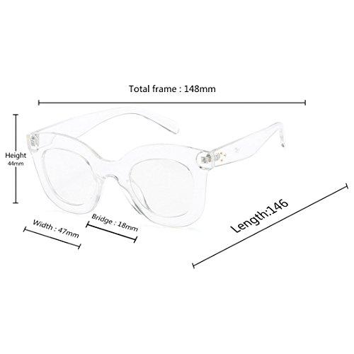 de estilo sol gato vintage Transparente Luz ojo de Inlefen de Mujeres gran de Gafas Mujeres retro sol Gafas de tamaño Gafas Gafas de xa0xqYwAE