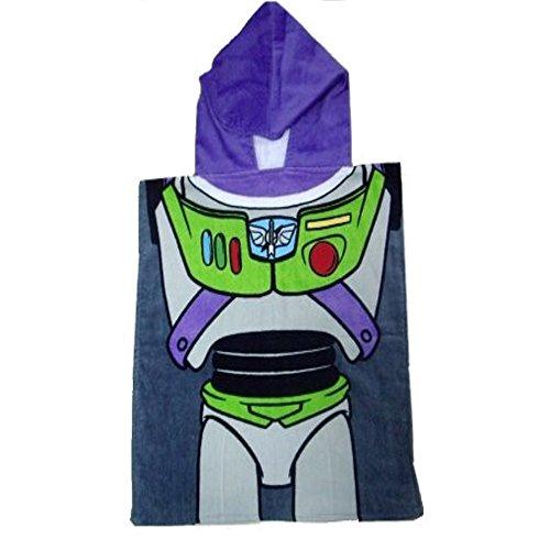 Disney Toy Story Hooded Towel for Kids - Buzz Lightyear