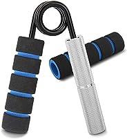 MoKo Hand Grip Strengthener, Metal Forearm Finger Hand Finger Wrist Exerciser Gripper Strengthener Hand Squeez