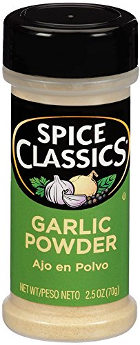 Mccormick Spice Classics Garlic Powder, Pack of 12