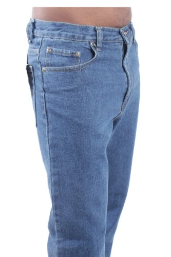 Da Lavoro Uomo 28 Jeans Bcb1 Pantaloni Meccanici Con Vita Denim Agricoltori Nuovo 60 Blue Etichetta Misura Circle 46EWxY