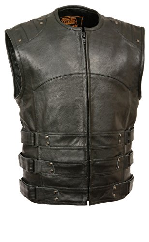 (Milwaukee Men's Updated Swat Style Vest (Black, Large))