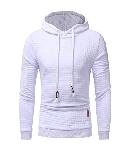Dangyin Hoodie Lattice Jacquard Hoodies Hombres Fashion CháNdal Mens Sudadera Hoodie Mens Purpose Tour: Amazon.es: Ropa y accesorios