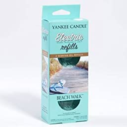 Yankee Candle Beach Walk Electric Home Fragrancer Refill Pack, Twin