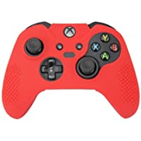 Silicone Cover For XBOX ONE Controller Skin Case Red