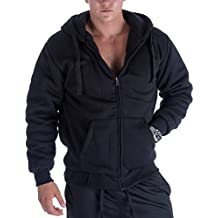 Gary Com Fleece Lined Hoodies For Men 1.8 lbs Full Zip Sherpa Plus Size Sweatshirt Mens Jackets Heavyweight Outwear