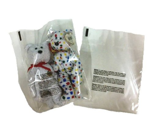 100 18'' x 24'' 2 mil Suffocation Warning Flat Poly Bags by Bubblefast