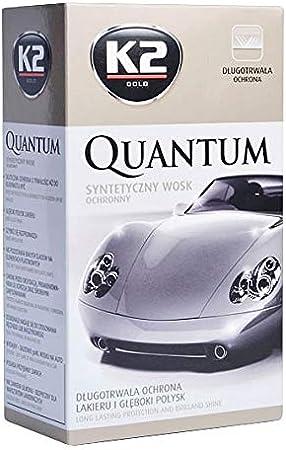 K2 Quantum Premium Schutzhülle Wachs 140 G 40 X 40 Cm Mikrofasertuch Auto