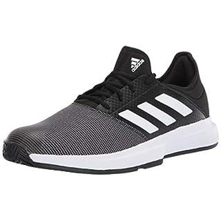 adidas Men's Gamecourt M Sneaker, Black, 13 M US