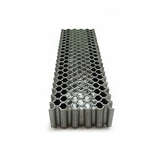 meite MC114 25 Gauge 1-Inch Crown 1/4-Inch Long Corrugated W Fastener Staples or Corrugated Fasteners (1 Small ()
