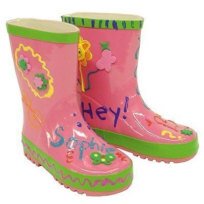 Little Pals Paint Your Own Funky Wellies - Medium by lil