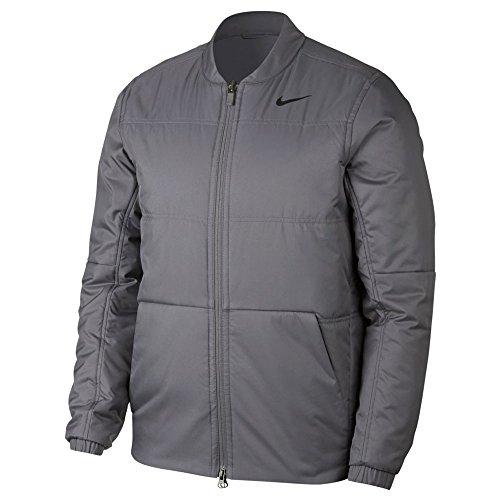 (Nike Synthetic Fill Core Golf Jacket 2019 Gunsmoke/Black)